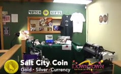 Salt City Coin and Hutch Gifts Featured in KWCH Chanel 12 Video