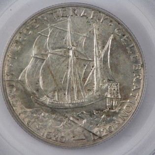 1920 Pilgrim Tercentenary Commemorative Half