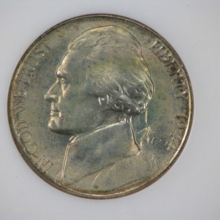 1944-S Jefferson Nickel Full Steps