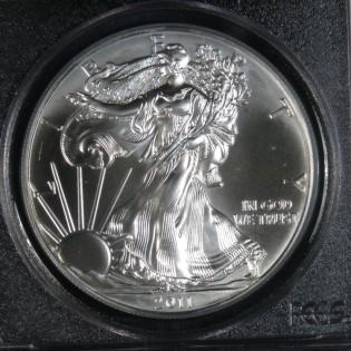 2011 Silver Eagle PCGS MS70