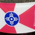 Wichita Flag Acrylic 5″ X 7″