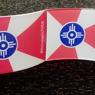 Wichita Flag Acrylic 5″ X 7″
