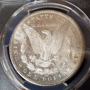 1891-CC Morgan Dollar PCGS MS61
